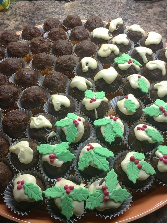 37 Best Images About Little Chocolate Christmas Puddings
