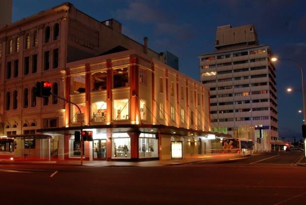 Levy Building, Britomart, Auckland City