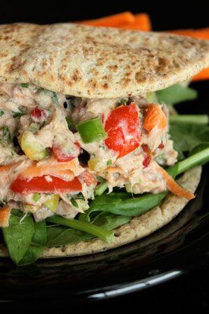 Spicy Garden Tuna Salad