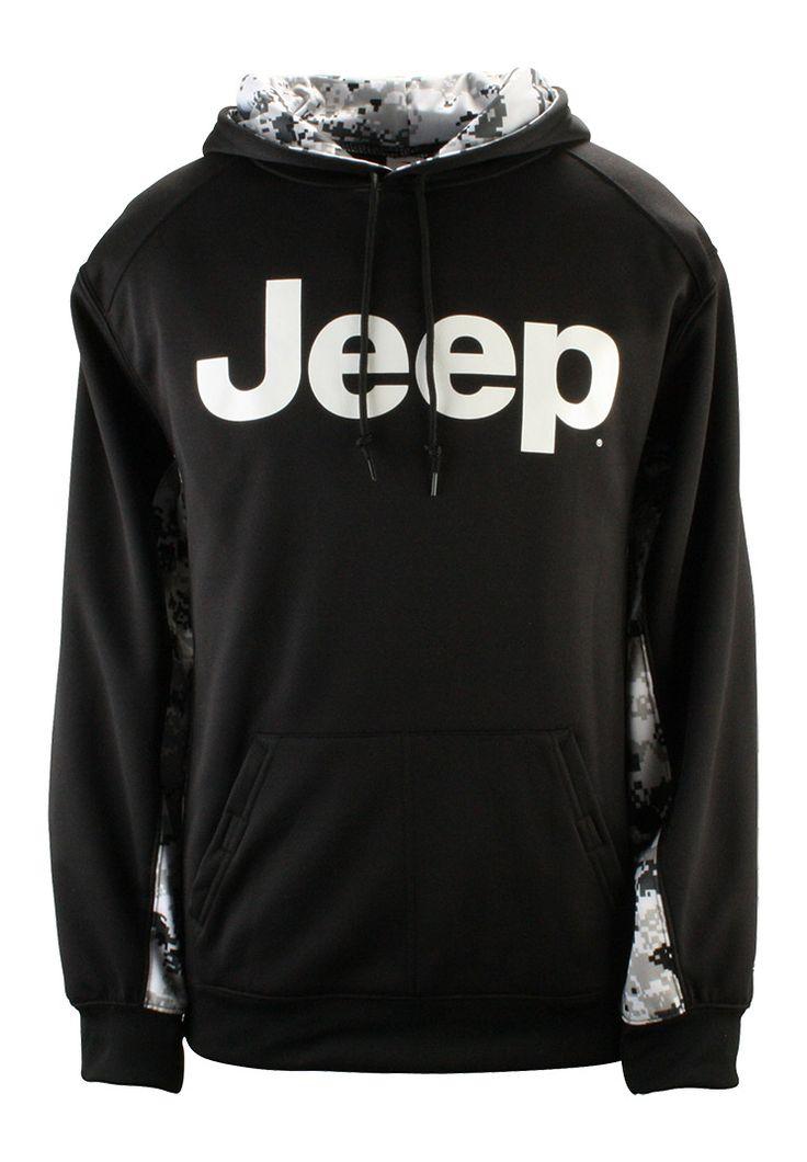 Jeep Gear: Product'Jeep® Digital Camo Colorblock Hooded Sweatshirt'