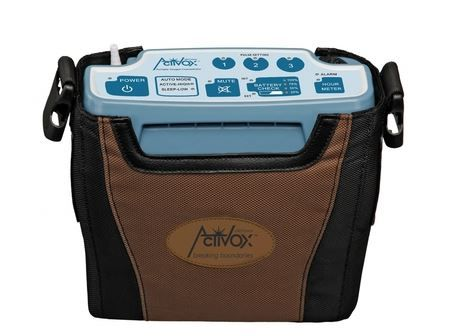 The Lifechoice ActivOx Pro portable oxygen concentrator is one of the smallest, FAA approved portable oxygen machines on the market weighing just 4.3 pounds (New Pro Model) and boasts the longest lasting internal battery available among portable oxygen concentrators.