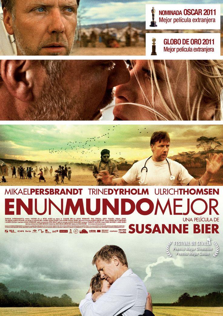 En un mundo mejor (2010) Dinamarca- Suecia. Dir.: Susanne Bier. Drama. Adolescencia. Familia - DVD CINE 2341