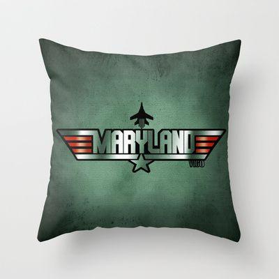 MARYLAND VIGO (Maverick Version) Throw Pillow