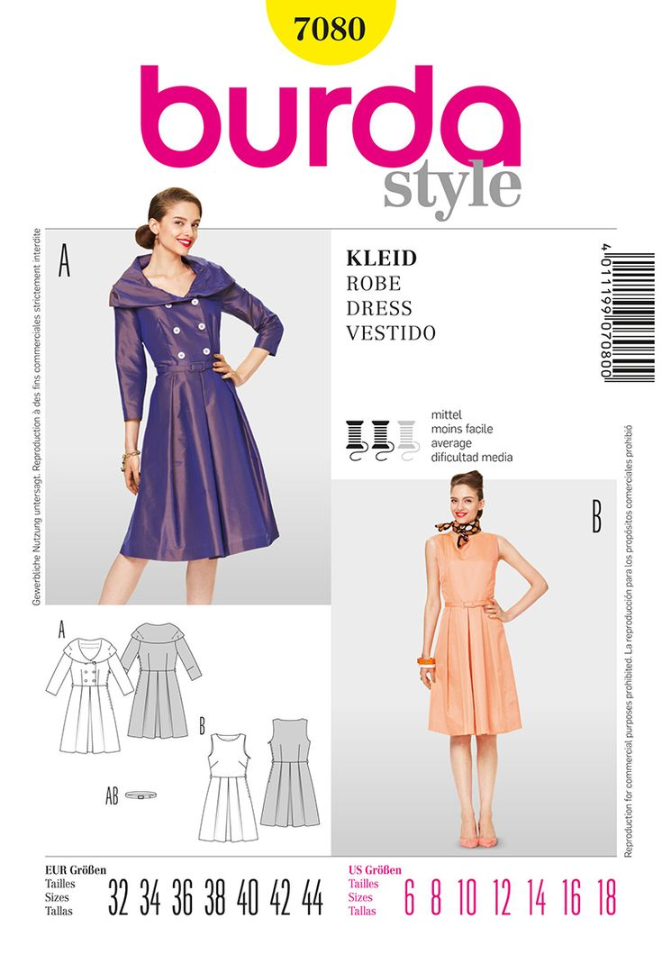 Burdastyle modern sewing dresses for every occasion bakery