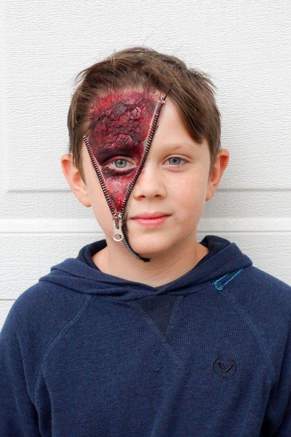 Zipper Face Costume Picture