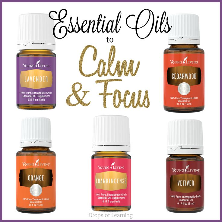Essential Oils and Other Techniques that really work to calm and focus a racing mind.
