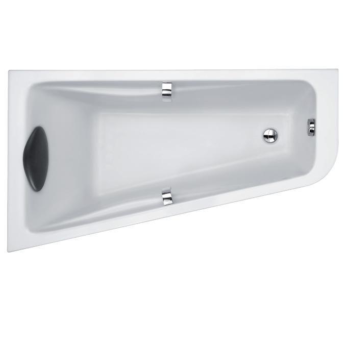 baignoire jacob delafon baignoire dangle odeon up 160 x 90 acrylique version gauche blanc