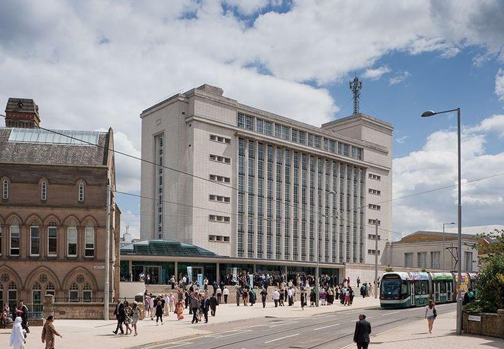 Nottingham Trent University - Newton Building.
