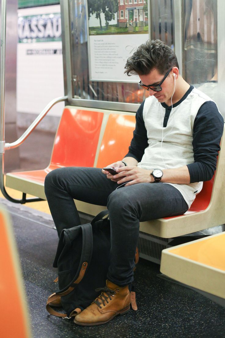 Subway Stalking – NYC Train Street Style GLO Science Teeth Whitening