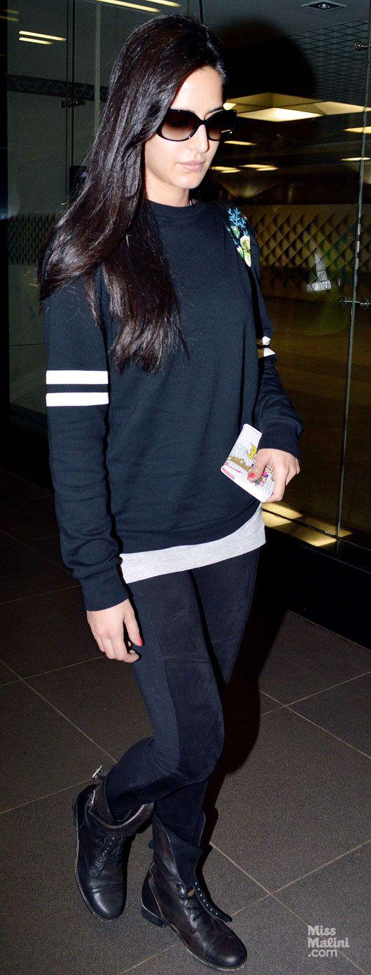 Airport Spotting: Katrina Kaif and Aamir Khan - MissMalini