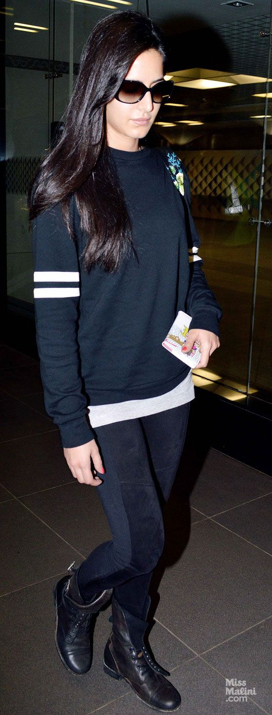 Airport Spotting: Katrina Kaif and Aamir Khan - MissMalini