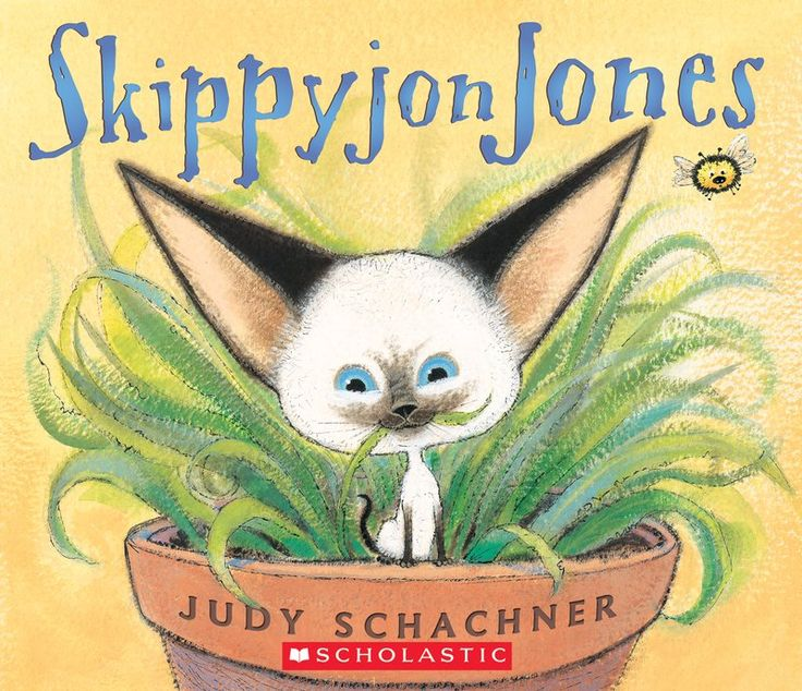 Skippyjon Jones is a Siamese kitten who refuses to be ordinary. Using his imagination, he goes on daring adventures as the noble El Skippito, the great sword fi