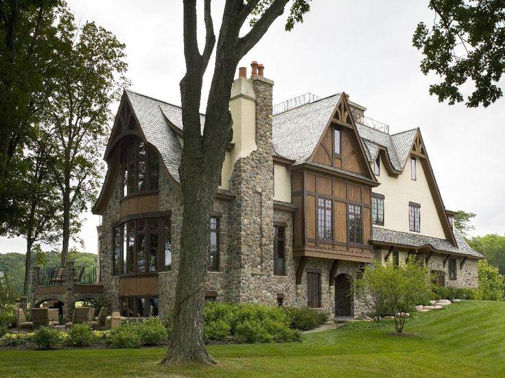 Загородные дома в английском стиле от компании Арком