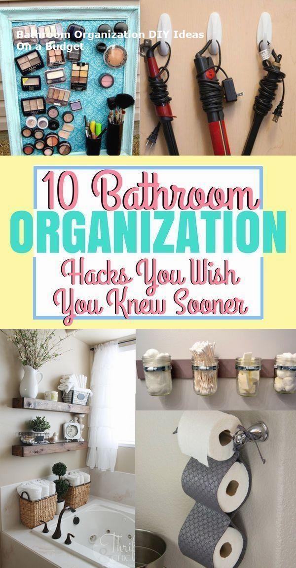 Great Bathroom Storage Solutions And Organization Ideas