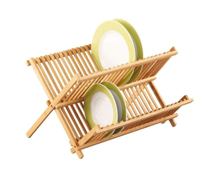Подставка для сушки посуды Zeller 25341, бамбук