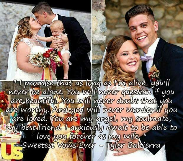 Tyler and Caitlyn from Teen Mom.  True love, strength and devotion at such a young age.  They did what was best for thier child no matter how much it broke thier hearts.  I true role model for young adults.