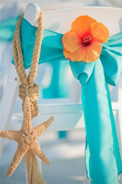 30 Romantic Blue Beach Wedding Ideas Weddingomania | Weddingomania