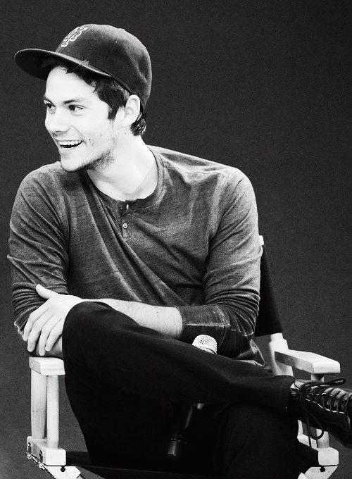 Dylan in a ball cap