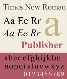Times New Roman is a serif typeface commissioned by the British newspaper The Times in 1931 and created by Victor Lardent in collaboration with the British branch of the printing equipment company Monotype. Through distribution with Microsoft products and as a standard computer font, it has become one of the most widely used typefaces in history.