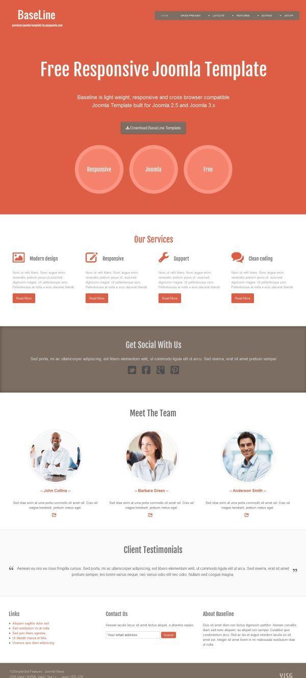 15 best joomla images on pinterest joomla templates website