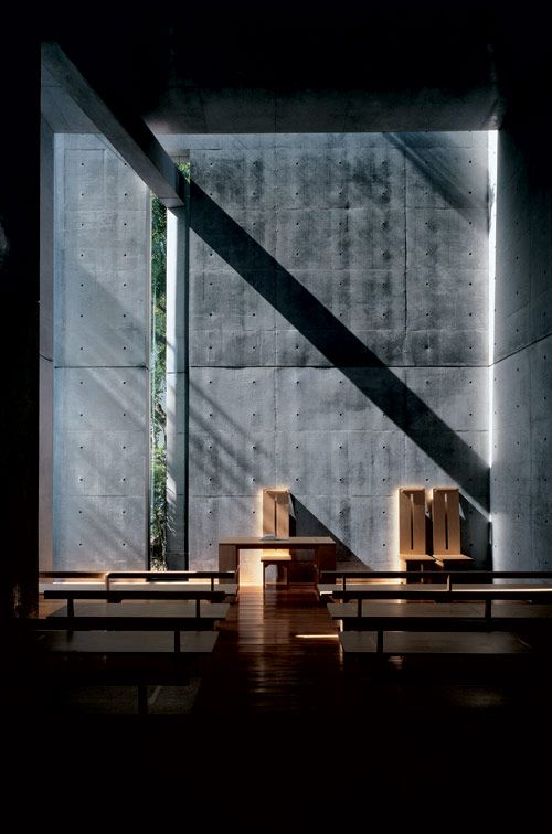 An other of these best architects who gave me the desire to become an architect : Tadao Ando. Church of the Light Ibaraki Osaka