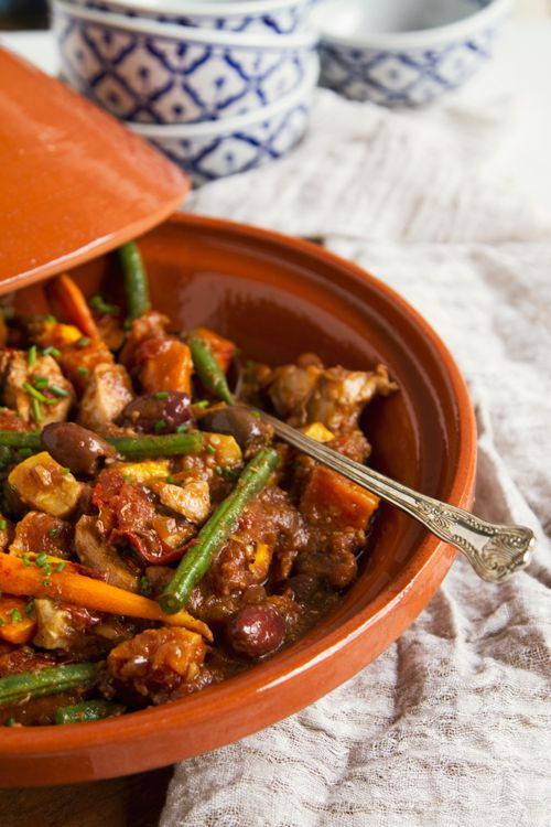 Feeling exotic? This delicious, healthy Moroccan Chicken Tagine recipe is the perfect dish to add a little spice and variety to your meal plan!