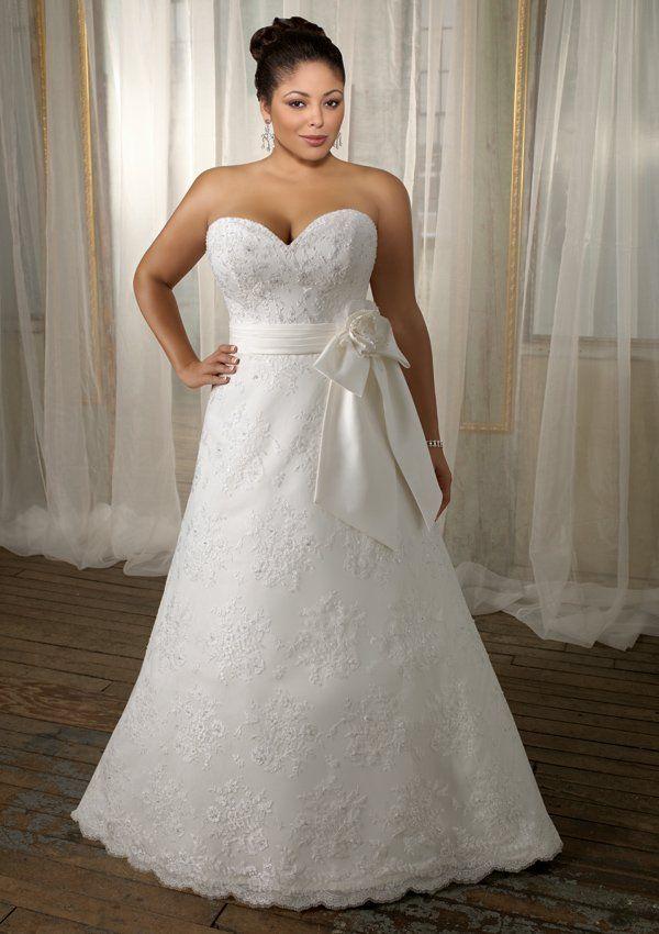 Resultado de imagen para vestido de novia que sean para gorditas