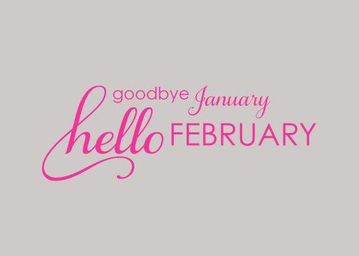 Hello February Images | Hello FebruarySteel Petal Press