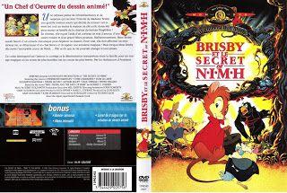 JAQUETTE DVD: jaquette dvd Brisby et le secret de nimh