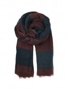 Becksöndergaard Elvira scarf series - Classic navy