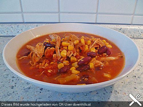 Mexikanische Taco-Suppe
