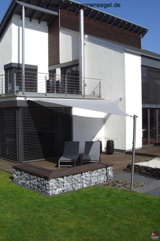 Ordentlich Die besten 25+ Sonnensegel balkon Ideen auf Pinterest  FG52