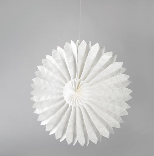 white tissue paper daisies party decorations