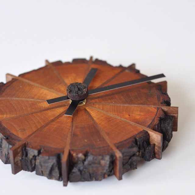 A Natural Edge (Shop) Clock - by MightyWood @ LumberJocks.com ~ woodworking community