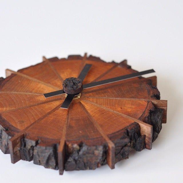 A Natural Edge (Shop) Clock - by MightyWood @ LumberJocks.com ~ woodworking community