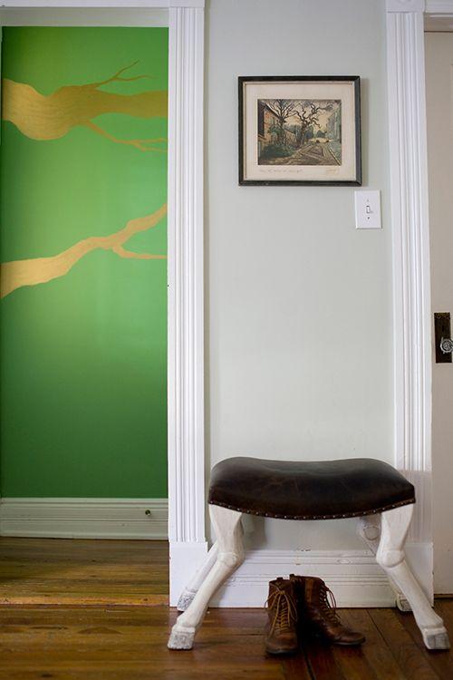 Benjamin Moore's Aurora Borealis and Silver Sage