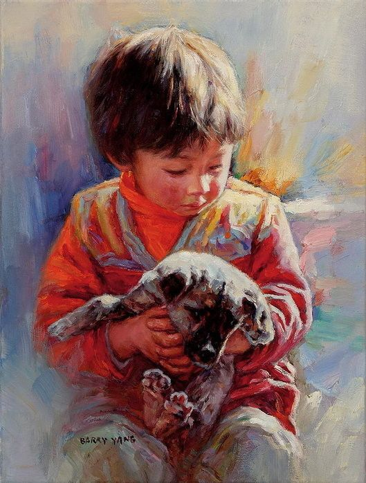 Barry Yang | Chinese Portrait painter