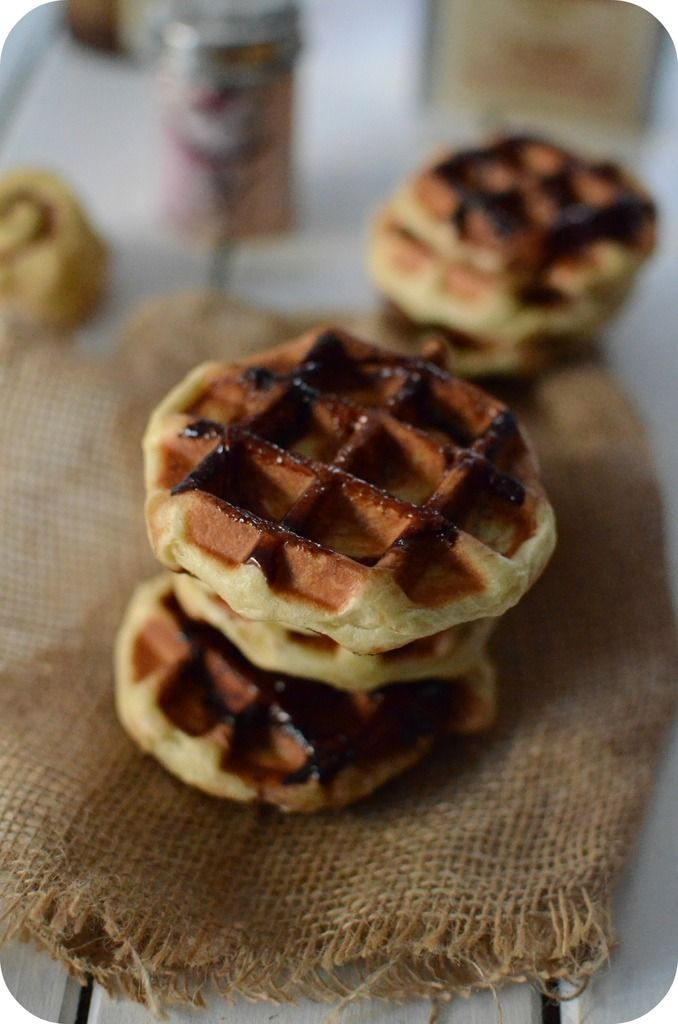 151 Best Images About Recettes Gaufres On Pinterest Blueberry Waffles Nutella And Bacon