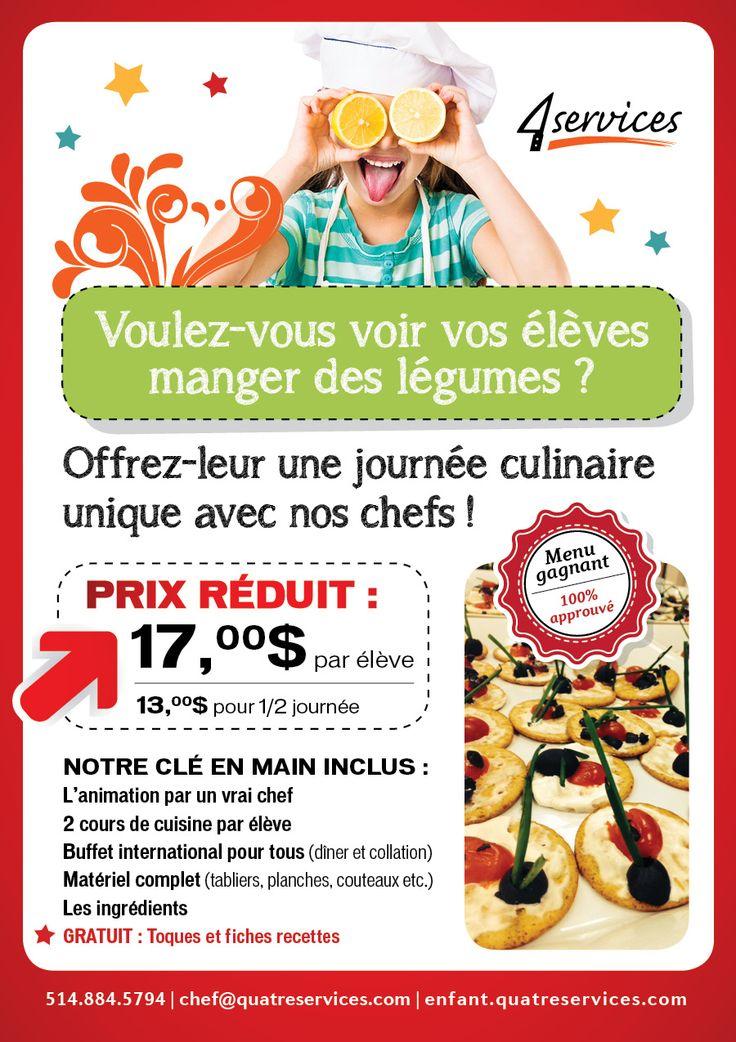 À tous les aspirants chefs... Imaginez-vous dans une émission culinaire !