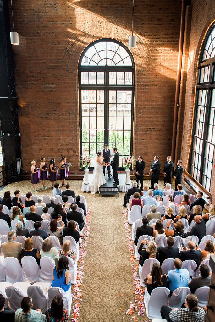 Real Cleveland Wedding at Windows on the River, photo by Lane Baldwin
