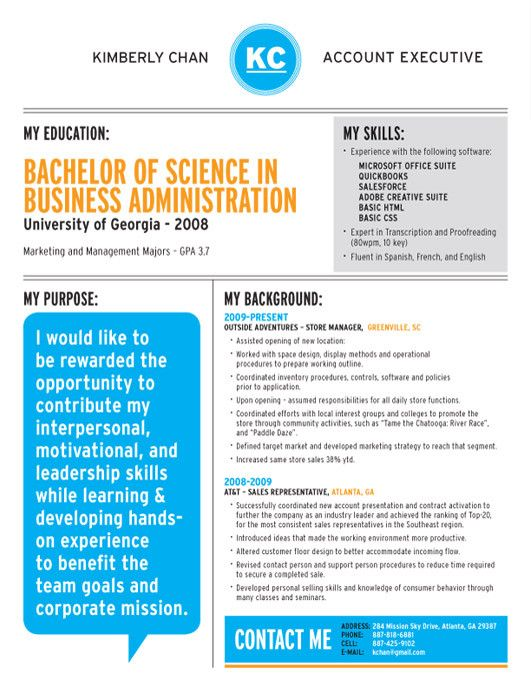 168 best Creative CV Inspiration images on Pinterest Creative cv - show me a example of a resume