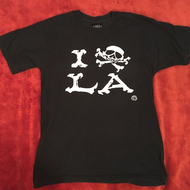 "LIP SERVICE ""I skull LA"" tshirt"