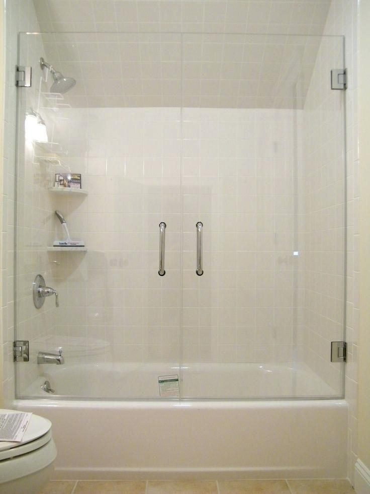 Perfect Glass Shower Doors Tub With Top Best Bathtub Enclosures