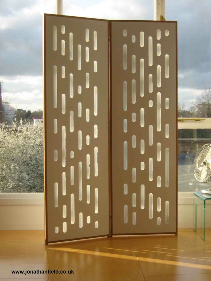 The reflective screens are made to order and can have a mix of different colours or just one or two colours. They can be made with different timbers for the frame and also different sizes. 180cm H x 55cm W x 6cm D Price:  £695.00  www.jonathanfield.co.uk
