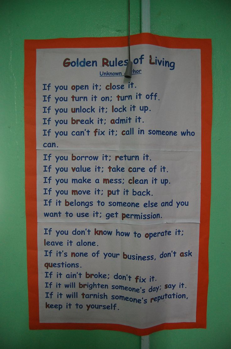 golden rules of life 3 golden rules for a better and healthier life we can't always change the situations we are in nor the people we interact with and this is exactly why we need to learn to live our lives based on these 3 golden rules.