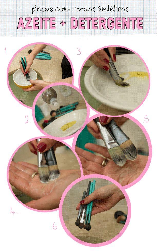Como limpar os pincéis de maquiagem com Bel Lüscher | Modices