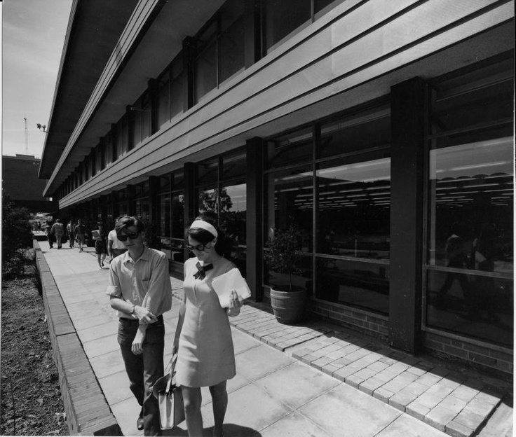 1966- outside the Library