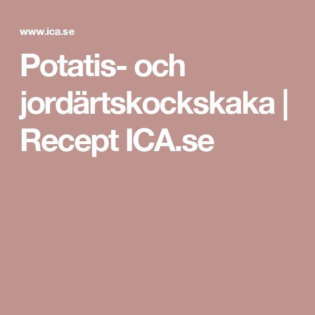Potatis- och jordärtskockskaka | Recept ICA.se