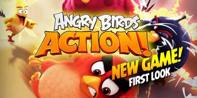 Angry Birds Action! ya disponible en Google Play