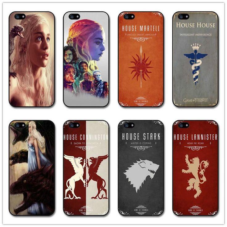 Game of thrones Phone Cases For iPhone 5 5S SE 6 6plus 7 7Plus Hard plastic Cover - Direwolf Shop Direwolf Shop